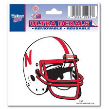 Nebraska Helmet Decal Lawlor S Custom Sportswear