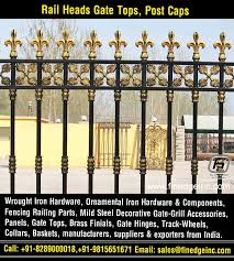 Decorative Wrought Iron And Ornamental Iron Components Fencing Hardware Railing Parts Gate Grill Parts Wrought Iron Hardware Accessories Manufacturers Expo