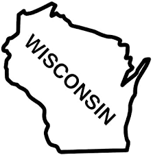 Amazon Com Bd Usa Wisconsin State Outline Decal Sticker Black Decal Sticker Vinyl Car Home Truck Window Laptop Automotive