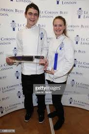 Abigail Watson and Lloyd Pinder, winners of the Le Cordon Bleu UK... News  Photo - Getty Images