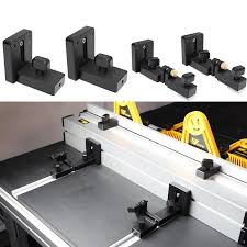 Woodworking Profile Fence And T Track Slot Sliding Brackets Miter Gauge Fence Connector For Woodworking Router Saw Table Benches Woodworking Machinery Parts Aliexpress