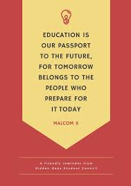 inspirational education quote school poster templates by canva