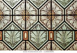 stained glass window pane historical