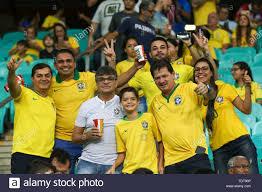 Salvador, BAHIA, BRASIL. 18th June, 2019. SALVADOR, BA 18.06.2019: Brasil x  Venezuela realizam jogo valido