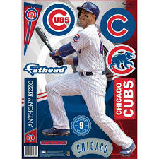 Anthony Rizzo Chicago Cubs Teammate Wall Decal By Fathead