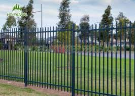 Anti Ultraviolet Spear Top Fencing Panels With 65 65mm Square Tube Post For Sale Spear Top Fencing Manufacturer From China 107756732