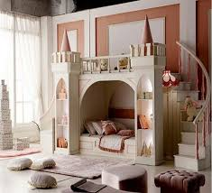 Girls Princess Solid Wooden Castle Bed Children Bed Stairs And Slippery Slide Russia Pinus Sylvestris Locker T Cool Kids Bedrooms Castle Bed Childrens Bedrooms