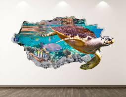 large replica sea turtle shell tortoise
