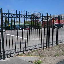 China Supplier Decorative Garden Security Metal Fence China Security Metal Fence Garden Metal Fence