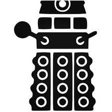 Doctor Who Dalek 2 Decal Sticker
