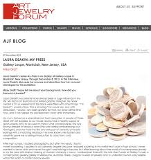 art jewelry forum ajf interview