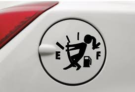 Gas Girl Funny Car Decal Vinyl Window Sticker Or Gas Cap Cover Etsy
