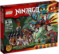 Đồ chơi Lò luyện rồng Lego Ninjago - 70627 (1137 chi tiết), Giá ...