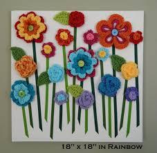 3d flower wall art baby girl nursery