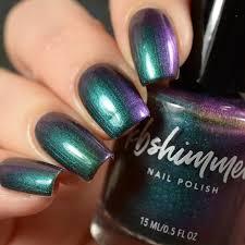 flip flop ay multi chrome nail polish