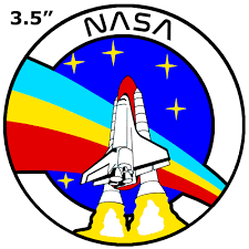 Nasa Decorative Car Truck Decal Window Sticker Vinyl Die Cut Space Explorer Planets Rocket Shuttle Astronaut Mission Control Stargazer Series Walmart Com Walmart Com