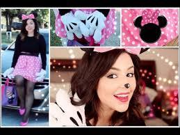 minnie mouse hair makeup diy costume