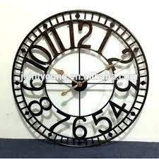 large outdoor clocks uk home