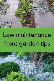 low maintenance front garden ideas