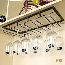 wine glass holder rack wall mounted