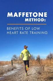 maffetone method low heart rate