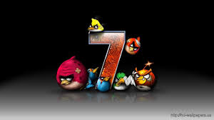 Windows 7 Angry Bird – Free Download HD Wallpapers