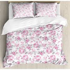 ambesonne shabby elegance roses with
