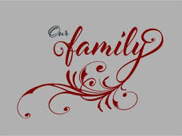 Our Family Wall Vinyl Decal Wall Words Custom Vinyl Lettering