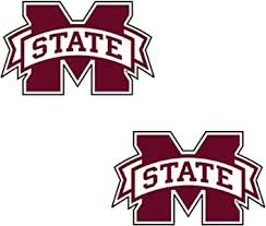 Amazon Com Craftique Mississippi State Decal Sports Outdoors
