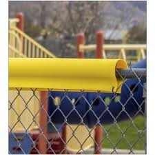 Decorative Chain Link Fence Privacy Slats Safety Top Cap Lite Privacylink Sweets