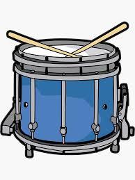 Marching Drum Snare Drum Player Sticker By Moonpie90 Redbubble In 2020 Snare Drum Drum Player Marching Drum