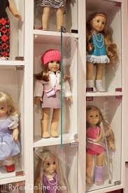 american girl doll wall mounted display