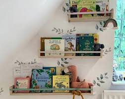 Kids Bookshelf Etsy