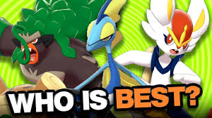 Who is the BEST Starter Pokemon Competitively? Ranking All 3 Sword ...