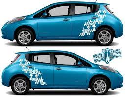 Leaf Decals Nissan Leaf Decals Stickers Nissan Leaf Graphics Decals