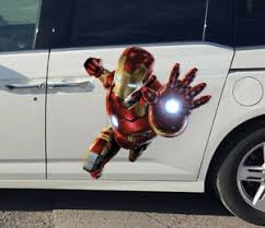 Iron Man Car Wrap Full Color Comics Design Graphics Decal Custom Size Sticker Ebay