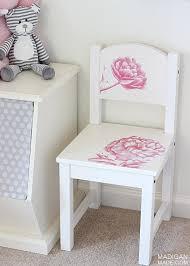 Diy Child S Chair With Photo Transfer Medium