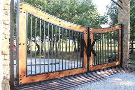 Metal Or Wood Custom Driveway Gate Which Is Best Aberdeen Gate