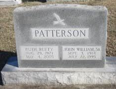 John William Patterson, Sr. (1914 - 1995) - Genealogy