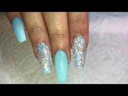 spring acrylic nails infill