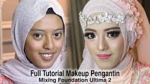 full tutorial makeup pengantin 2017