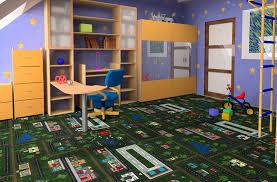 Joy Carpets Tiny Town Kids Carpet Tile Squares