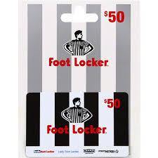 foot locker gift card 50 gift cards