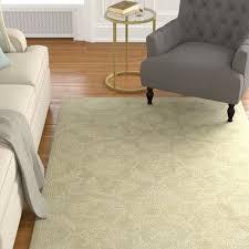 argent looped hooked wool sage area rug