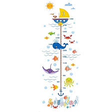 Holoras Child Height Wall Sticker Diy Kids Growth Height Measuring Chart Removable Wall Decal Room Decoration For Kids Nursery Bedroom Living Room Walmart Com Walmart Com
