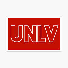 Unlv Stickers Redbubble