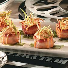 Asian Bacon-Wrapped Scallops Recipe ...