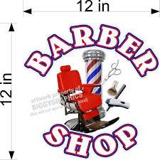 Vinyl Decal For Barber Shop Hair Dresser Wall Or Window White Text Walmart Com Walmart Com