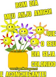 Bom dia! que o seu dia seja colorido!