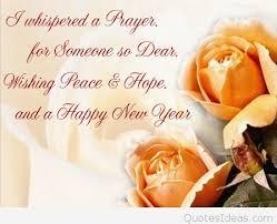 prayer happy new year